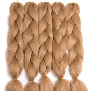 5 packs of Strawberry Blonde braiding hair *NWT*